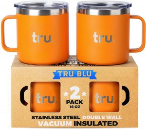 Tru Blu Steel's Coffee Mugs