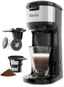 Sboly Single Serve Coffee Maker